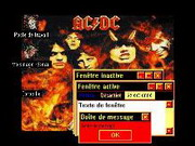 AC/DC Windows theme
